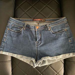 ZARA The Original TRF Collection Denim Shorts